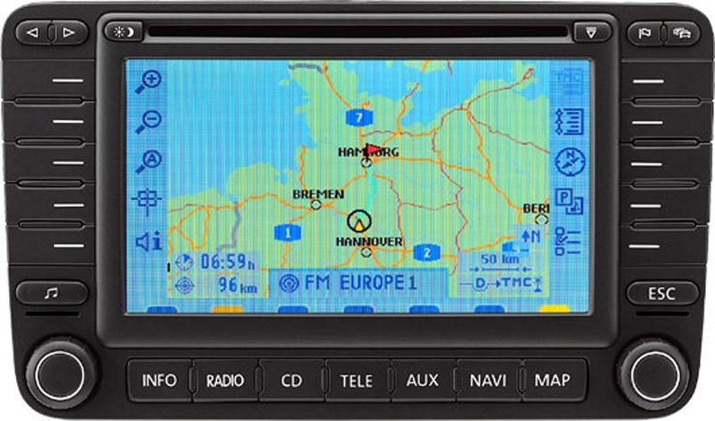 Volkswagen Rns Mfd2 Head Unit Pinout Diagram   Pinoutguide Com