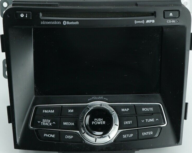 Hyundai Sonata 2011 2014 Navigation Head Unit And Amplifier Pinout Diagram Pinoutguide Com