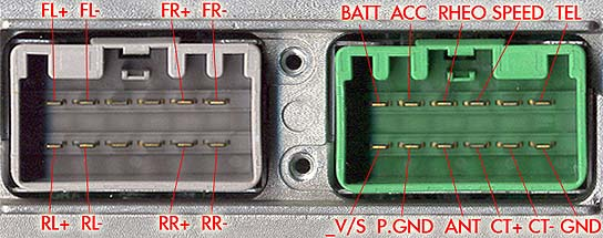 Volvo HU1205 Head Unit pinout    diagram      pinoutguide