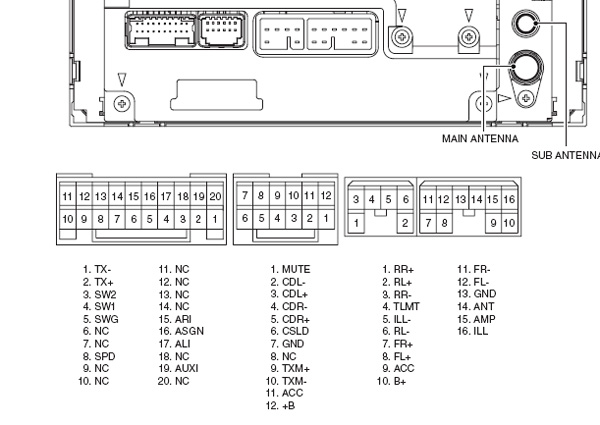 Fabulous Toyota 53818 86120 12A30 Q Js7671A Head Units Pinout Diagram Wiring Digital Resources Dylitashwinbiharinl