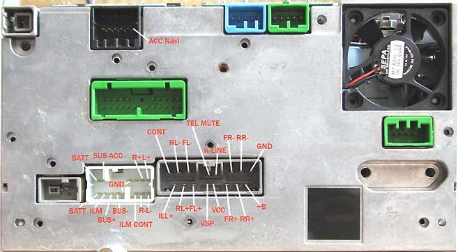 Honda Navigation Pinout Diagram   Pinoutguide Com