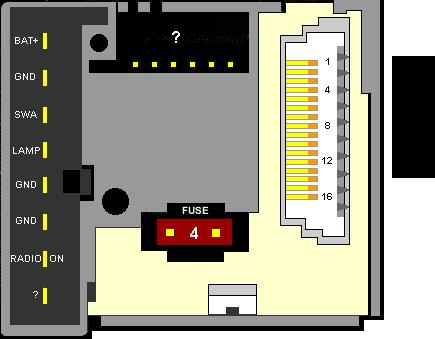 Ford 2007 RDS 95GP-18K876-CA pinout diagram @ pinoutguide com