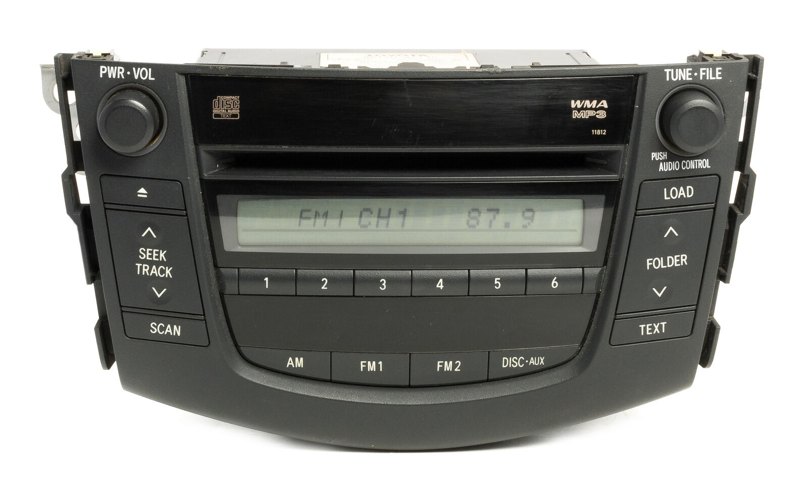 Toyota Rav4 2006 2014 Cd Head Unit Pinout Diagram Pinoutguide Com