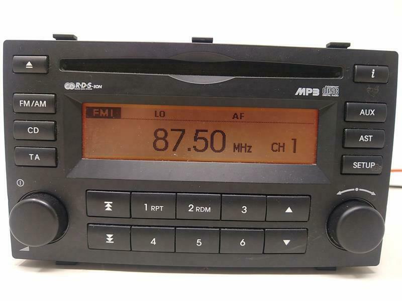Kia Picanto 2004 2018 Cd Radio Head, Kia Picanto Radio Wiring Diagram
