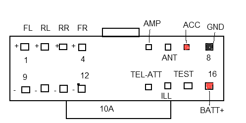 sony cdxgt310/317ee pinout diagram  pinoutguide