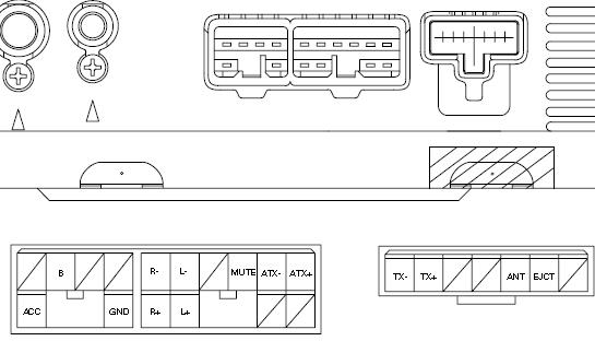 Lexus RX300 (1999-2003) Head Unit pinout diagram @ pinoutguide.com   99 Lexus Rx300 Wiring Diagram      PinoutGuide.com