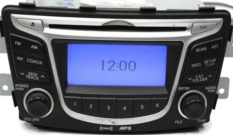 Hyundai Accent (2012-2013) Head Unit pinout diagram @ pinoutguide.com | Hyundai Accent Radio Wiring Diagram |  | Pinouts.ru