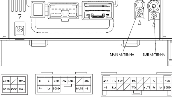pinout_90843373_lexus-p6813-pin  Pin Radio Harness Wiring Diagram Toyota Camry on