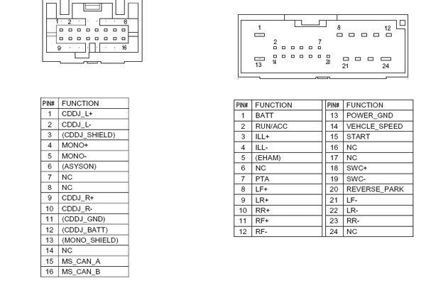 ford 4r3t 18c815 hu pinout diagram. Black Bedroom Furniture Sets. Home Design Ideas